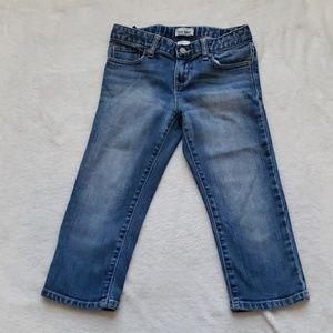 Old Navy girl capri jeans